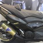 ท่อ Termignoni for T-MAX สีทองคอดำ