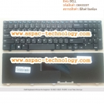 Dell Keyboard คีย์บอร์ด Inspiron 15 3521 5521 YH3FC ภาษาไทย อังกฤษ