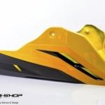 อกล่าง STORM สีเหลืองดำ FOR HONDA CB650F