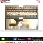 Asus Keyboard คีย์บอร์ด A52 A53 / N50 N53 N60 N61 N71 N73 / G51 G53 G60 G72 G73 / K52 K53/ U50 / X53 X66 Series ภาษาไทย/อังกฤษ