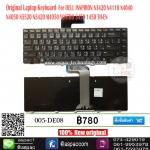 Keyboard Dell Inspiron 14R 14V / N4110 N4120 N4040 N4050 / M4040 M4050 / N4320 / Vostro 1440 1445 1450 1540 1550 2420 2520 3350 3420 3450 3460 3550 3560 V131 / N5050 M5050 M5040 N5040 N5420 / Inspiron 15R 5520 7520 ภาษาไทย/อังกฤษ