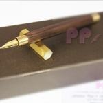 ปากกาหมึกซึม SKB Wooden Hexagon