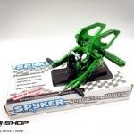 เกียร์โยง Spyker สีเขียว Z125