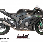 ท่อSC Project CR-T SILENCER FOR ZX10R 2016