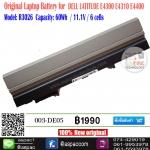 Original Battery DELL LATITUDE E4300 E4400