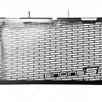 การ์ดหม้อน้ำ ENGINE'S สีดำ FOR HONDA NC750