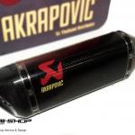 ท่อ Akrapovic Slip-On Line (Carbon) สำหรับ Yamaha R3