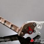 มือเบรค Bikers for KSR ปรับระดับ พับได้