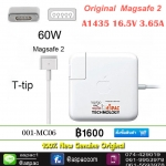 Original Magsafe 2 60W Power Adapter MacBook Retina A1435 A1502