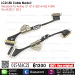 "LCD LED Cable for MacBook Pro Retina 13"" 15"" A1502 A1425 A1398 Fits All 2012 - 2015"