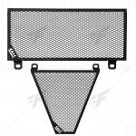 การ์ดหม้อน้ำ COX สีดำ FOR DUCATI PANIGALE899/1199