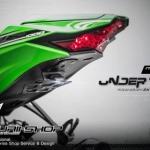 ท้ายสั้น Undertail Motorun สำหรับ NINJA ZX10R2016 Z1000 2014-2016