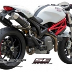 ท่อ SC PROJECT RACER Carbon for Ducati Monster795-796