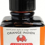 หมึก D Ink 30ml. J.Herbin - สีส้ม Orange Indian 57