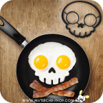 ซิลิโคนทำไข่ดาว Skull
