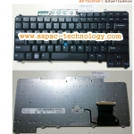 Dell Keyboard คีย์บอร์ด Latitude D620 D630 D631 D820 D830 / M65