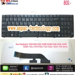 Asus Keyboard คีย์บอร์ด K50 K50A K50C K50ID K50IE K50IJ K50IL K50IN K50IP / K51 / K70 K70IJ / F52 F52Q / X5DC X70I Series