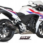 ท่อ SC PROJECT OVAL Silencer for HONDA CBR500R (2013-2015)