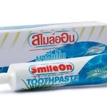 ยาสีฟันสมุนไพรผสมว่านหางจระเข้ สไมล์ออน