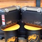 กล่องข้าง LOBOO GEN3 37L สีดำ 2ใบ พร้อมชุดยึดข้าง FOR HONDA CB500X