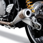 ท่อ GP EXHAUST FOR THRUXTON 1200 R BRITISH CUSTOMS