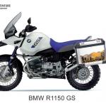 ปี๊บข้าง 2 ใบ พร้อมแร็ค K2 PRO 29,35L,41L FOR BMW R1150GS