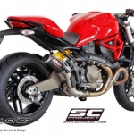 ท่อ SC PROJECT CR-T Silencer for Ducati Monster821