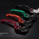 มือเบรกหน้าปรับระดับ พับได้ for Z1000 Folding Adjustable Brake Lever