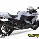 Two Brother slip on carbon black ZX14