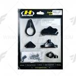 ขาจับกันสะบัด HYPERPRO สีดำ FOR HONDA CBR650F