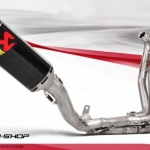 ท่อ AKRAPOVIC EVOLUTION SBK CARBON FULL-SYSTEM FOR KAWASAKI ZX10R