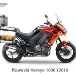 ปี๊บข้าง 2 ใบ พร้อมแร็ค K2 PRO 35L & 40L FOR KAWASAKI VERSYS650