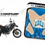 สติ๊กเกอร์กันรอยข้างถัง STORM GRIP ใส FOR BMW GSF800