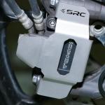การ์ดปั๊มหน้า SRC สีเงิน FOR SUZUKI V-STROM1000