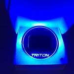 Triton Blue สีฟ้า