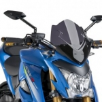 ชิวหน้า PUIG DARK SMOKE FOR SUZUKI GSX-S1000