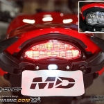 ไฟท้าย MotoDynamic- Clear (สีใส) สำหรับ moster 821