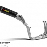 ท่อ akrapovic full system evolution line KIT Carbon for R1 2012