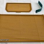 การ์ดหม้อน้ำ CoxRacing สีทอง สำหรับ Ducati Multistrada 1200 (2015)