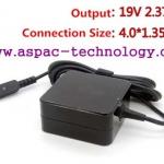 ASUS Original Adapter อแด๊ปเตอร์ของแท้ 19V 2.37A 45W หัว 4.0x1.35MM (แบบใหม่)