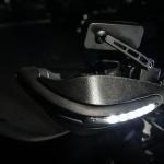 การ์ดแฮนด์ MISSION มีไฟLED FOR KAWASAKI D-TRACKER 250