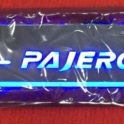 LED sill scuff plate-Pajero