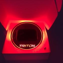 Triton Red สีแดง