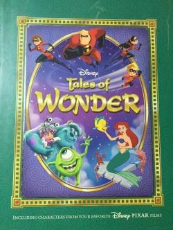 Disney Tales of WONDER Including characters from your favorite Disney PIXAR films