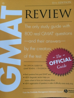 GMAT REVIEW. The only study guide with 800 real GMAT questions and their answers by the creators of the test
