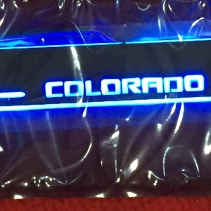 LED sill scuff plate- Colorado