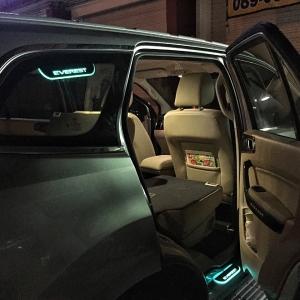 LED Rear Windows Upper ไฟขอบหน้าต่าง Everest
