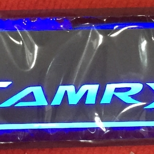 LED sill scuff plate- Camry