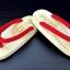 SUGOI-02 รองเท้าเกี๊ยะไม้ธรรมชาติเชือกแดง thumbnail 2