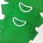 ปลีกตัวละ 50 บาท ไซส์ M เสื้อกีฬาสีเด็ก เสื้อกีฬาเปล่าเด็ก เสื้อกีฬาสีอนุบาล สีเขียว thumbnail 6